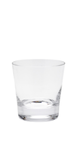 Compare the details of these crystal old fashioned glasses.