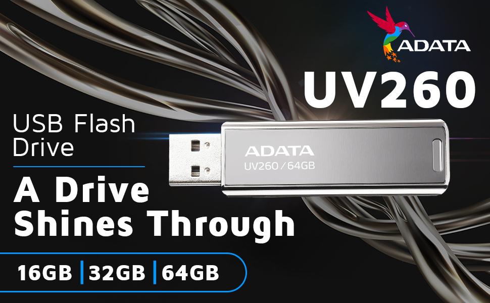 Adata UV260 USB 2.0 Flash Drive SPN FOR 1