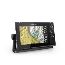 Chartplotter with built-in GPS makes navigation easy