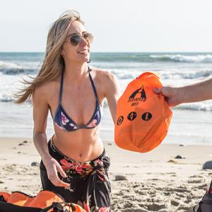 beach ready water resistant bag