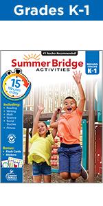 Summer Bridge Activities Grades K-1