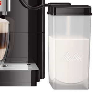 Melitta Passione OT F531-102, Cafetera Automática con Molinillo, Personalizable, Depósito de leche, Café en Grano, Limpieza Automática, 15 Bares, Negro: Amazon.es: Hogar