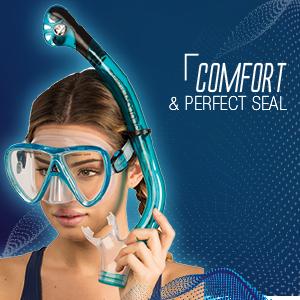 mask, snorkeling mask