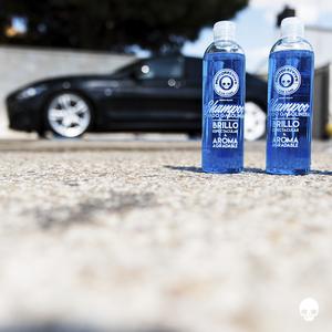 Shampoo para lavar coche y moto, efecto brillo, PH Neutro - 450 ml ...