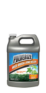 Pulverize Weed, Brush & Vine Killer - Easy-to-Use Liquid Concentrate