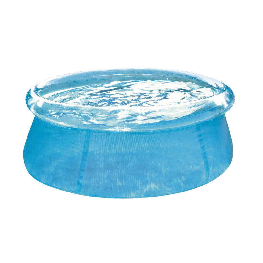 Jilong See-Thru Pool Ø 183 x 50 transparenter Quick-Up