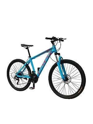 bicicleta azul