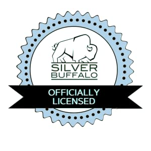 Officially Licensed Silver Buffalo