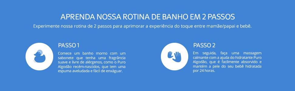Banner Produto para Recém Nascidos - rotina de banho