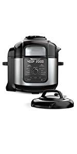 Ninja Foodi Deluxe XL Pressure Cooker and Air Fryer (FD401)