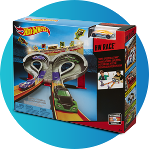 Buy Hot Wheels Super Speed Race Multi Color Online At Low Prices In India Amazon In