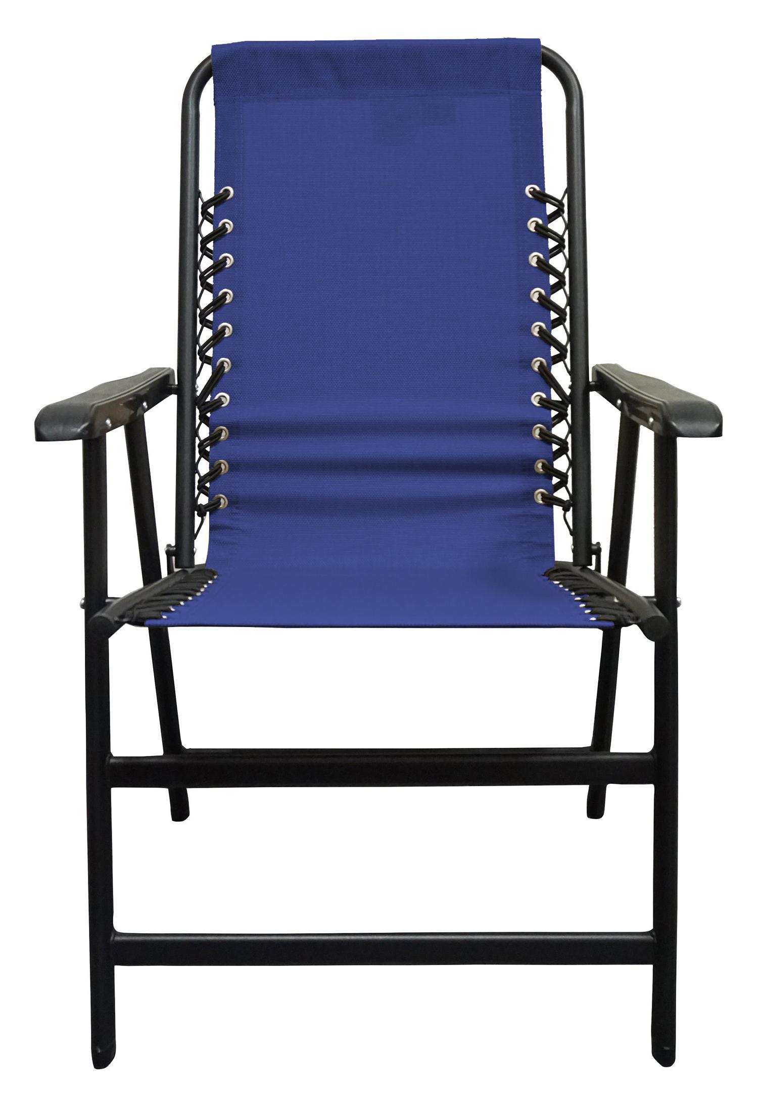 Amazon Com Caravan Sports Suspension Folding Chair Blue