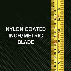 tape measure, inch, metric, komelon