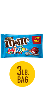M&M'S Minis Milk Chocolate Candy Bulk Bag