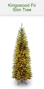 Kingswood Pencil Tree w/ white lights