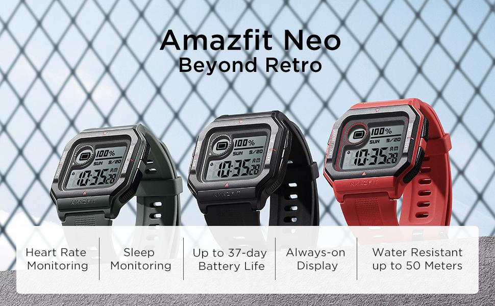 Amazfit Neo Retro Smartwatch