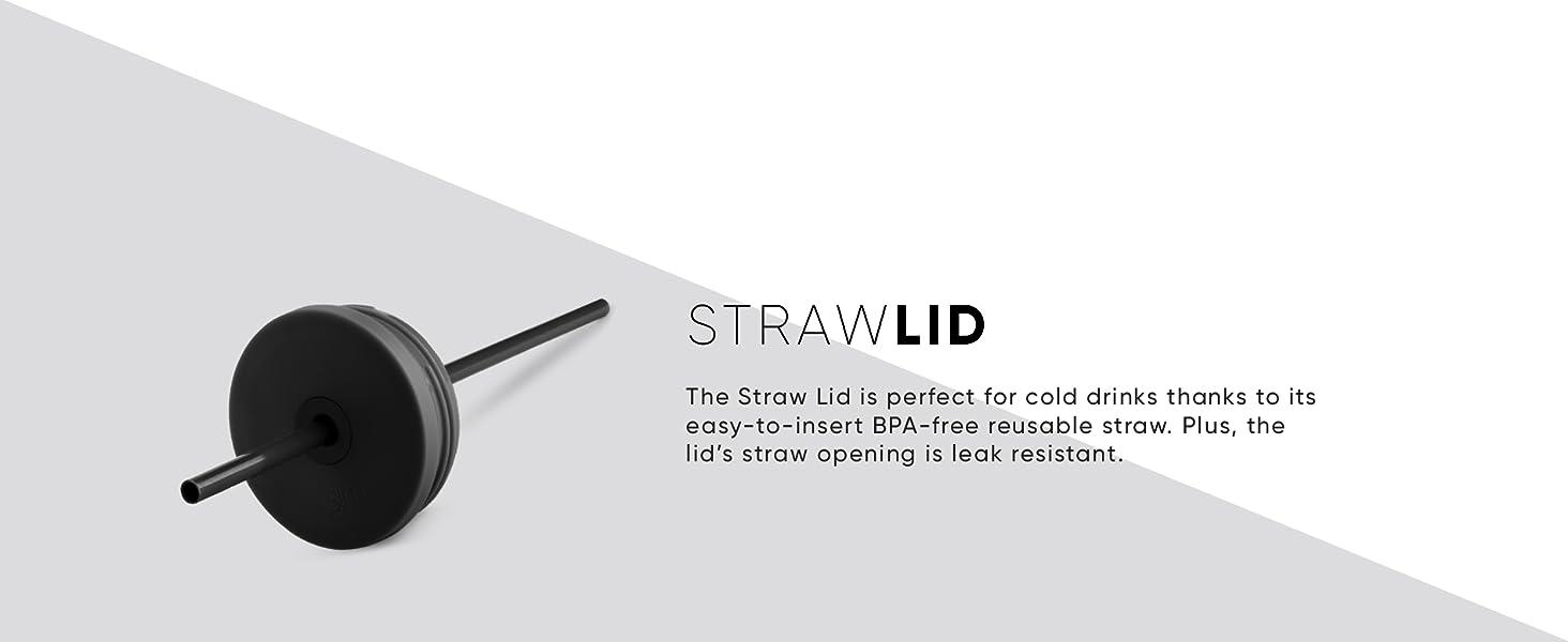 Straw Lid