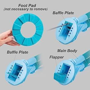 Amazon Com Xtremepowerus Automatic Suction Vacuum