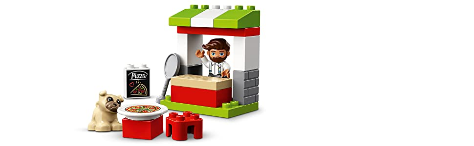 Free Shipping! Pizza Stand 10927 LEGO R DUPLO R