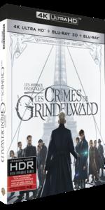 LES ANIMAUX FANTASTIQUES LES CRIMES DE GRINDELWALD 4K 3D
