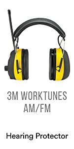 3M Worktunes AM/FM