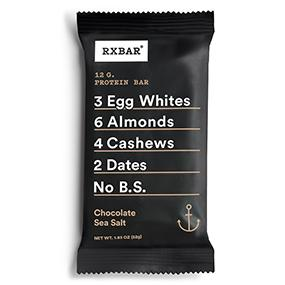 Image result for RXBAR — Chocolate Sea Salt
