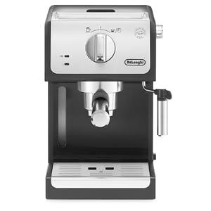 Delonghi ECP33.21 - Cafetera espresso, 1100 W, capacidad 1.1 l, café molido y monodosis, negro y plata