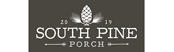 south pine porch logo