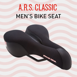 bike seat saddle comfort comfortable soft bike seat Planet Bike ARS bicycle seat