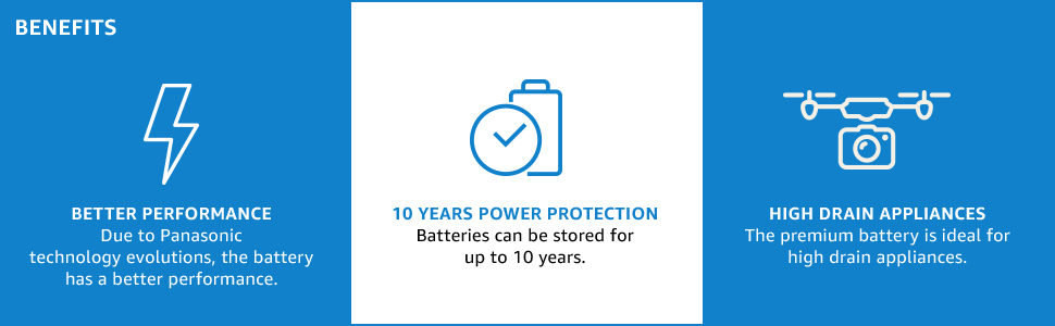Better performance, 10 year power protection and high drain appliances