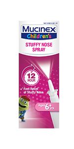 Mucinex Children's Stuffy Nose Spray