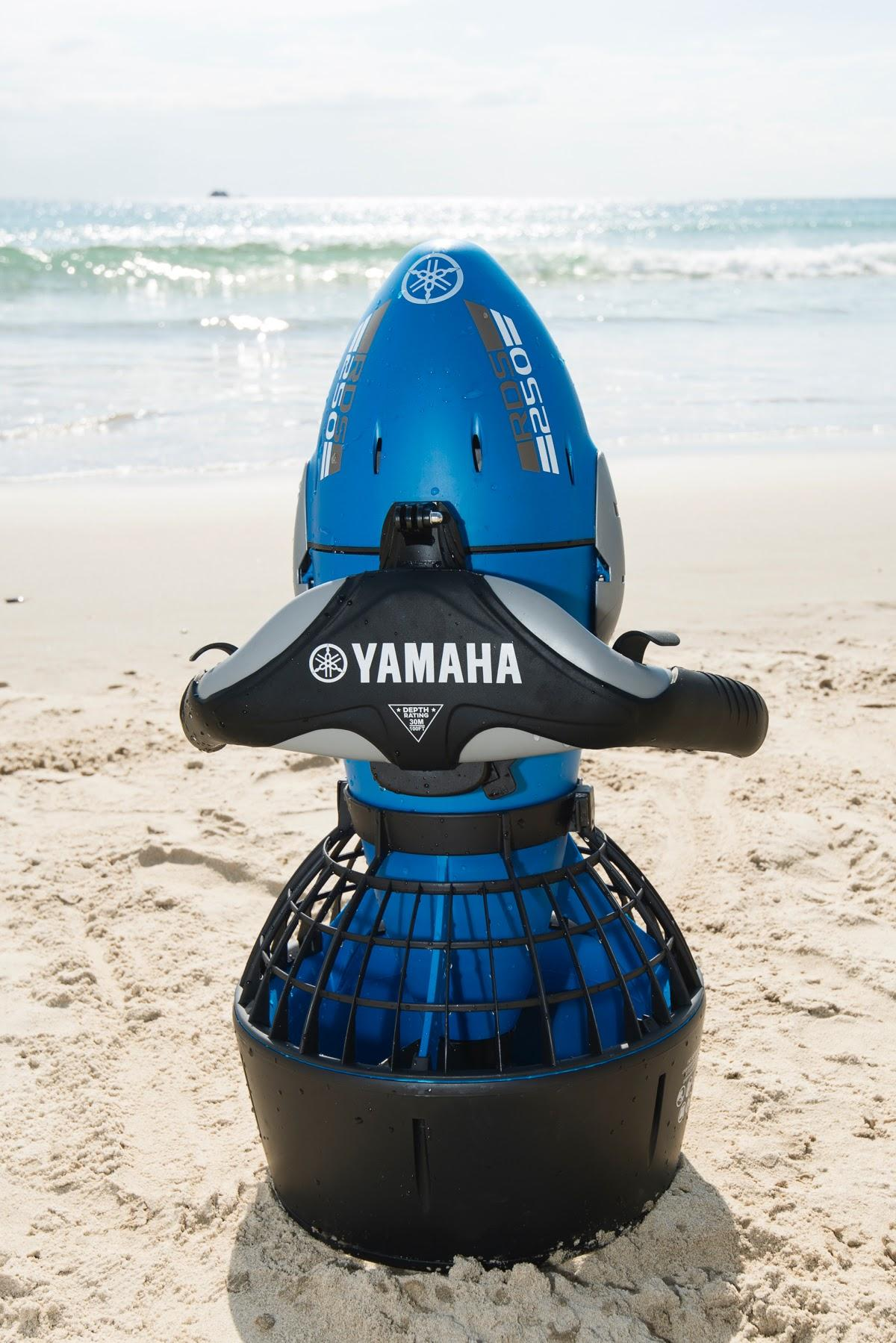 Yamaha rds250 seascooter with camera mount for Dive scooter