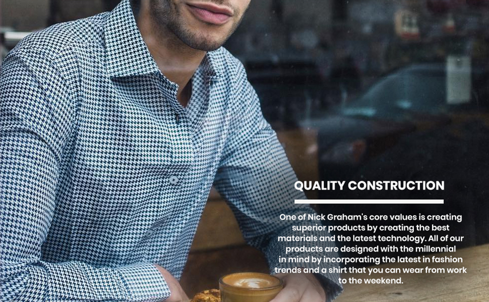 quality construction fabric trends technologies fashion weekend shirt business casual workplace