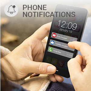 Phone notifications