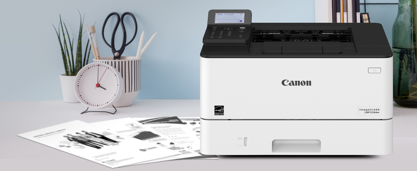 Lbp226, laser printer, compact laser, canon laser, office printer, bw printer, school printer