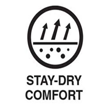 Dry comfort socks
