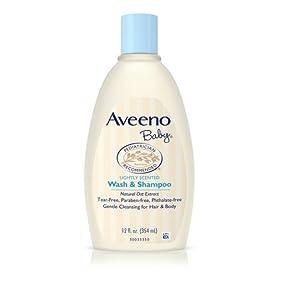 AVEENO Baby Wash & Shampoo, 12 Fl. Oz.