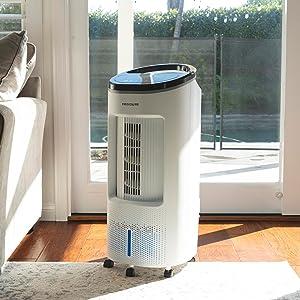 evaporative air cooler, evap cooler, evaporative cooler, swamp cooler, air cooler