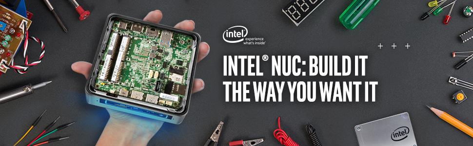 Intel NUC 7 Mainstream Kit (NUC7i7BNH) - Core i7, Tall, Add't Components  Needed
