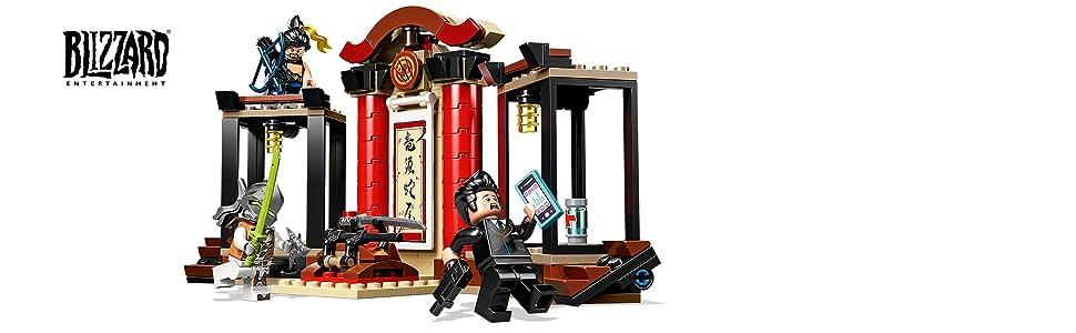 LEGO Overwatch Hanzo & Genji 75971 Building Kit, 2019 (197 Pieces)