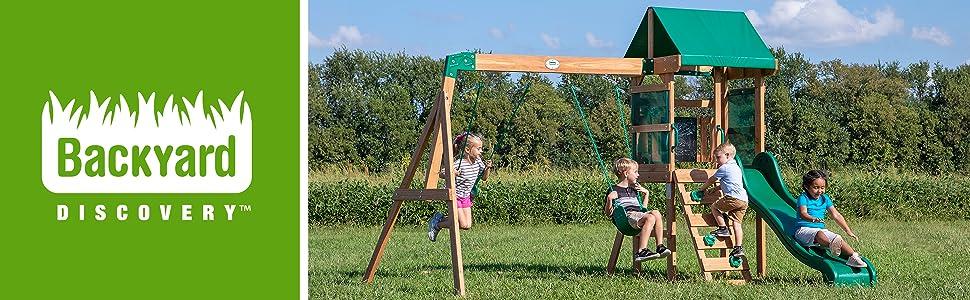 Backyard Discovery Buckley Hill Swing Set