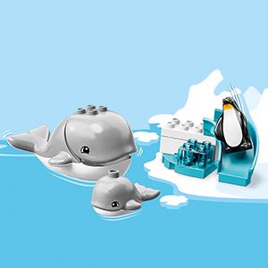 LEGO DUPLO Town - Animales del Mundo, Juguete de
