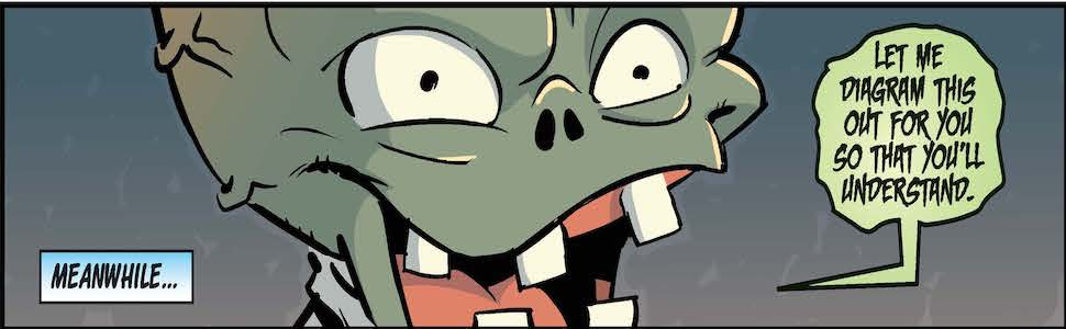 Kids Comics, Plants vs Zombies, PvZ, Graphic Novels, Reluctant Readers, Garden Warfare
