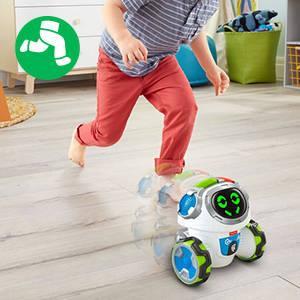 Fisher-Price Movi Superrobot, juguete educativo para niño +3 años (Mattel FPD04)