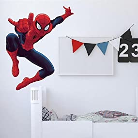 Attractive Spiderman Peel And Stick Wall Decals, Peel And Stick Wall Decals