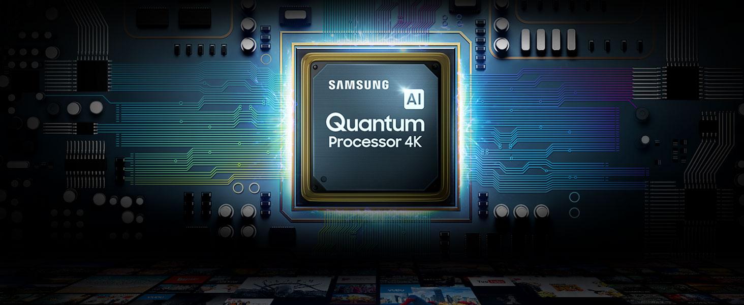 """Samsung QE55Q60RATXZT Serie Q60R (2019) QLED Smart TV 55"""", Ultra HD 4K, Wi-Fi, Nero"""
