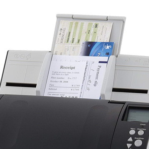 fujitsu fi-7160 mixed batch scanning with automatic clean-up