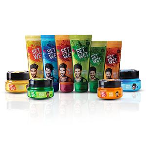 set wet hair gel;cool hold hair styling gel;alcohol free hair gels;water based hair gels;parabeen
