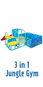 3 in 1 jungle gym