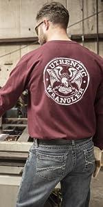 Wrangler FR Long Sleeve Graphic T-Shirt